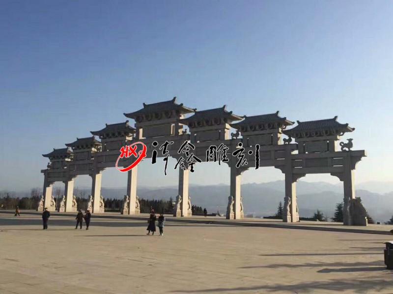 海鑫古建/石牌坊